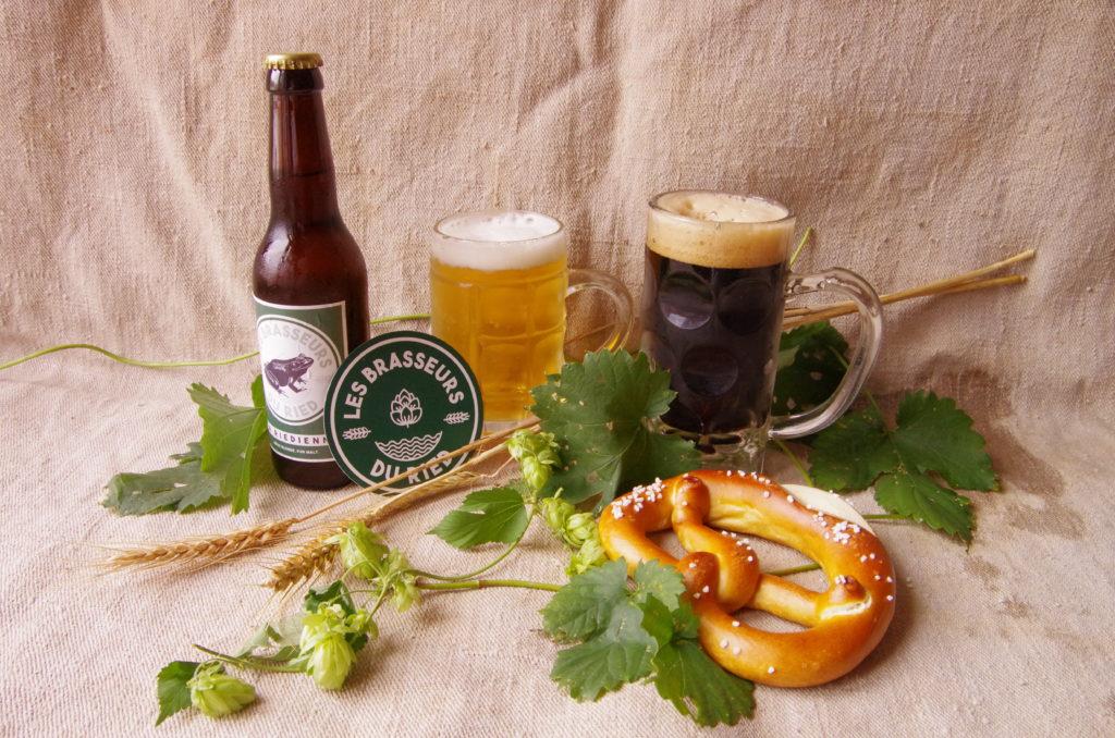 Biäre et bretzel